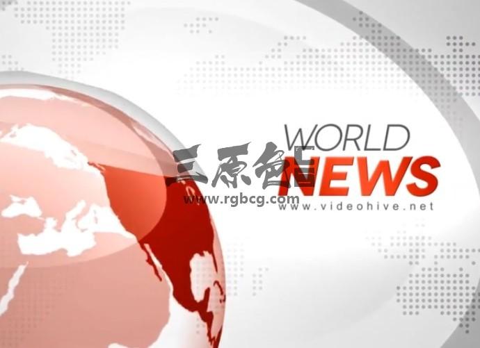Pr模板-Mogrt基本图形 新闻栏目包装片头 Broadcast News Pr 模板-第1张