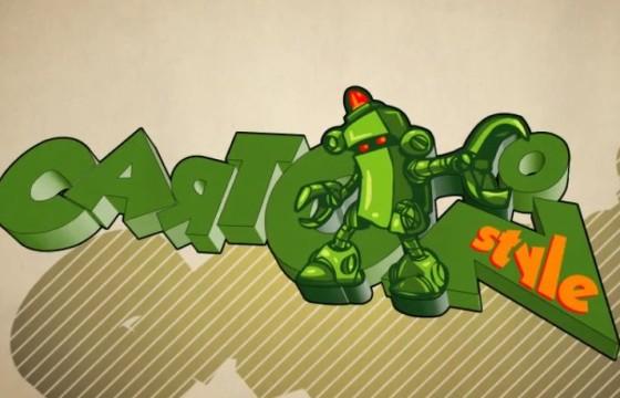 AE模板-卡通风格LOGO标志片头 Cartoon Style Logo