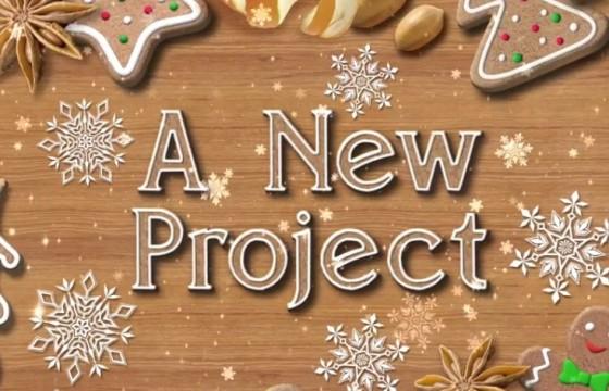 AE模板 圣诞饼干促销广告展示 Christmas Cookies Promo