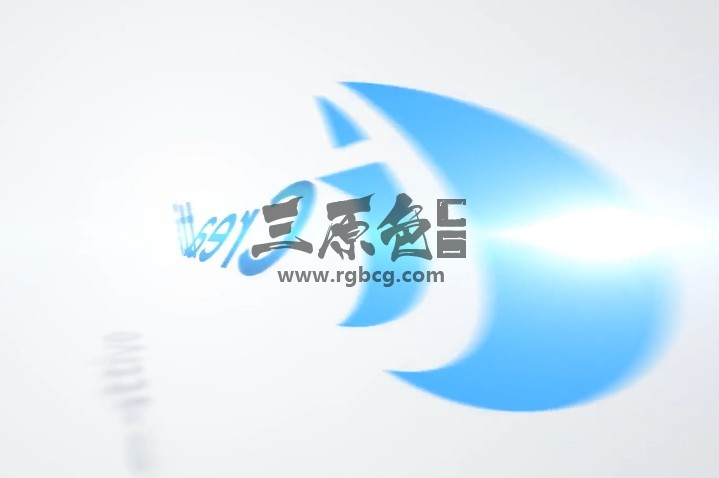 AE模板-干净简洁的LOGO旋转动画 Clean Rotation Logo Ae 模板-第1张