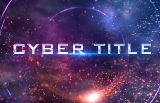 AE模板 动作电影图文预告幻灯片展示 Cyber TItle Opener