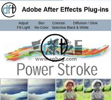 AE PS插件 蒙版抠图插件 Digital Film Power Stroke v1.1 Ae 插件-第1张