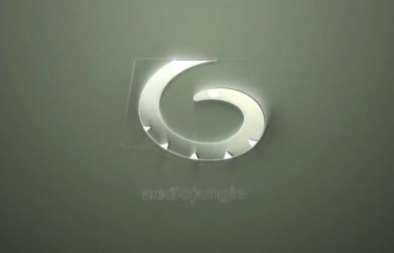 AE模板 优雅射灯LOGO标志片头 Elegant Light Logo