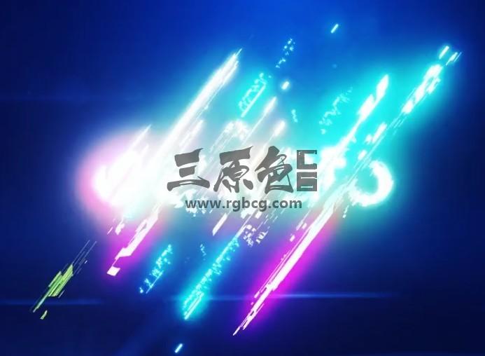AE模板 彩色失真故障效果标志 Energetic Glitch Impact Logo Ae 模板-第1张