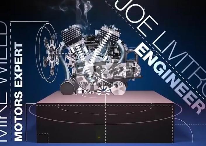 AE模板-机械动力学与技术发明简介 Technology Invention Intro Ae 模板-第1张