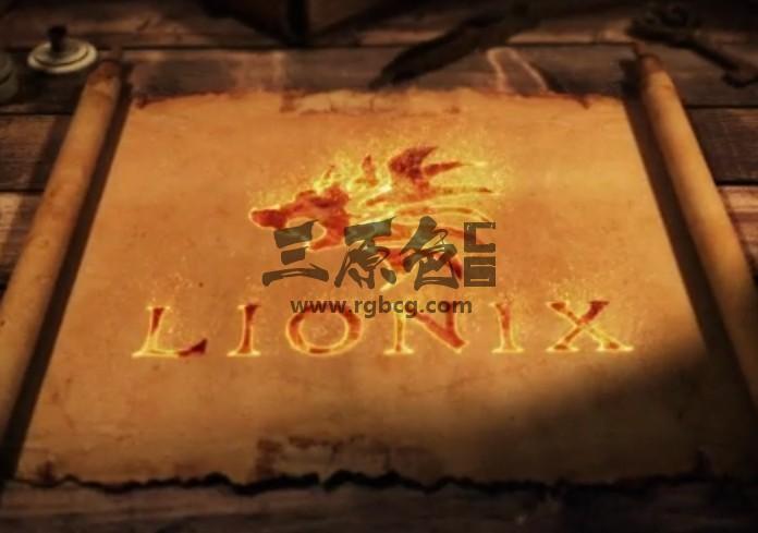 AE模板 史诗卷轴展开动画LOGO显示 Epic Scroll Logo Reveals Ae 模板-第1张