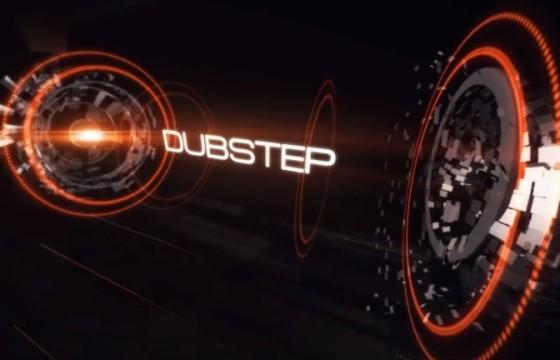 AE模板 高科技HUD文字标题动画 Fast Music Opener