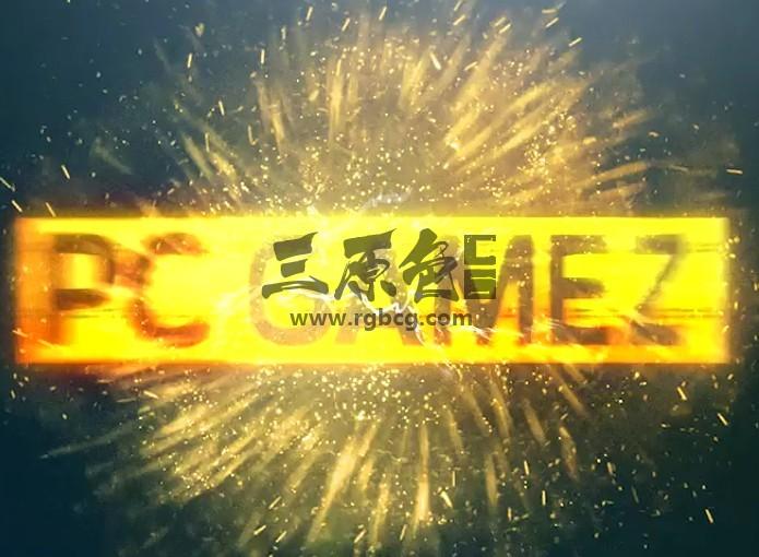 AE模板 电影游戏文字标题片头 Film Game Production Logo Title Ae 模板-第1张