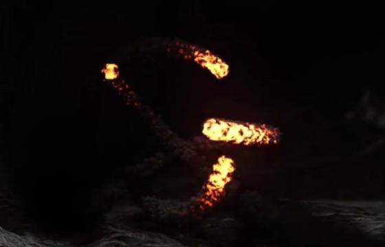 AE模板 火焰舞动LOGO显示片头 Fire Dance Reveal