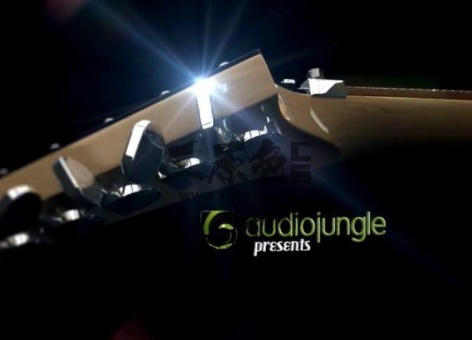 AE模板 吉他文字标题动画片头展示 Guitar Titles Ae 模板-第1张