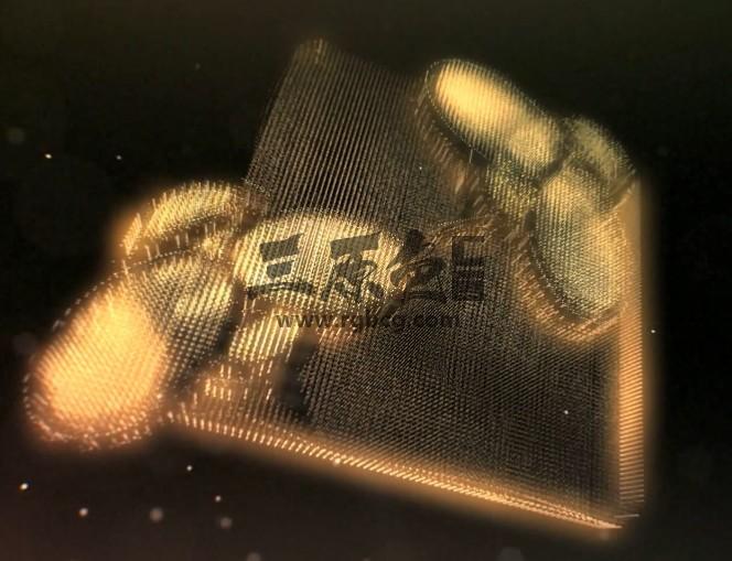 AE模板- 梦境粒子幻影特效文字LOGO标志显示 Inception Ae 模板-第1张