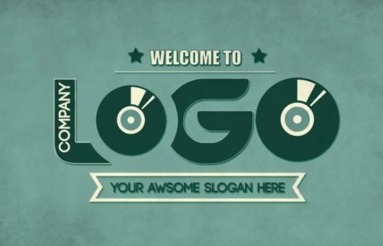 AE模板-复古风格MG卡通LOGO排版动画 Kinetic Company