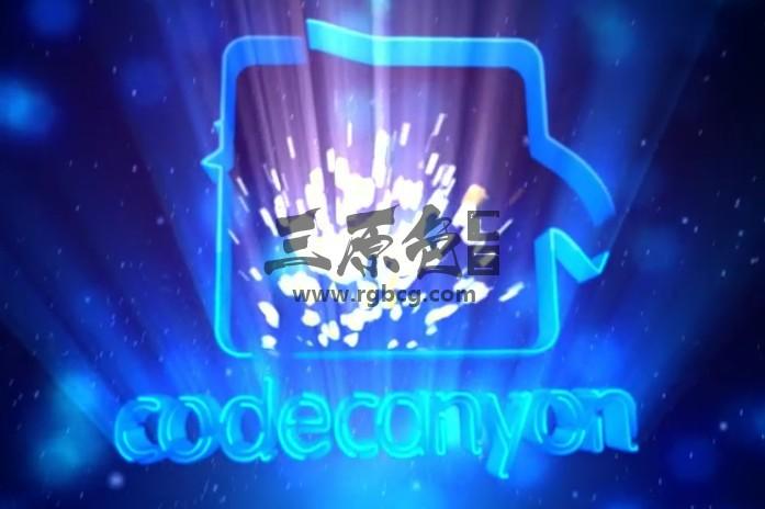 AE模板 光效射线标志LOGO片头 Light Rays Logo Ae 模板-第1张