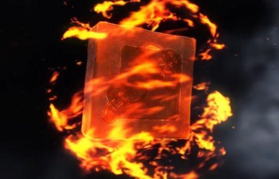 AE模板-魔术火焰环绕特效LOGO标志片头 Magic Fire Reveal