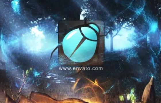 AE模板-神奇的自然LOGO标志片头 Magical Nature Logo