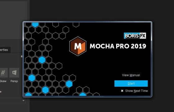 最新专业版平面三维跟踪反求软件 Mocha Pro 2019 v6.0 Win