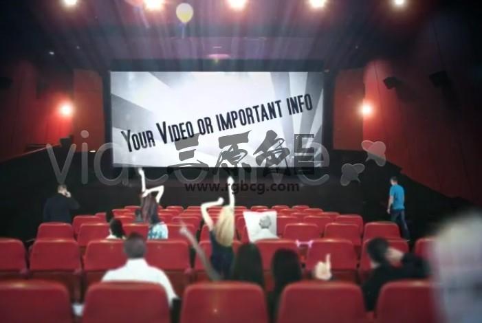 AE模板 商业电影广告促销宣传 Cinema Movie Commercial Ad Promotion Ae 模板-第1张