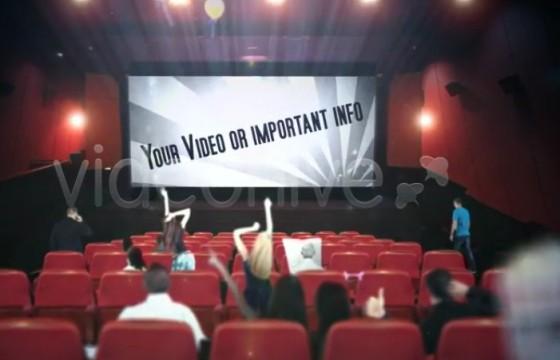 AE模板 商业电影广告促销宣传 Cinema Movie Commercial Ad Promotion