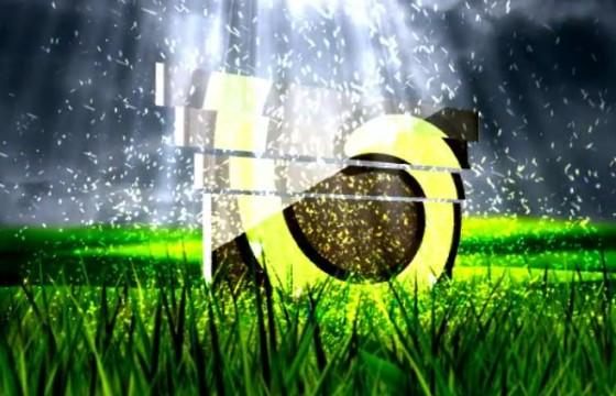 AE模板-自然绿色LOGO标志光效射线片头 Nature Logo Cinematic