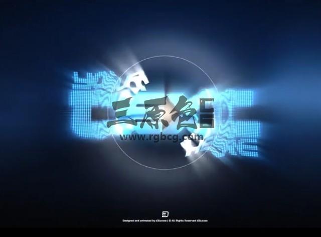 AE模板 粒子涡旋变形LOGO标志片头 Particle Vortex Logo Reveal Ae 模板-第1张