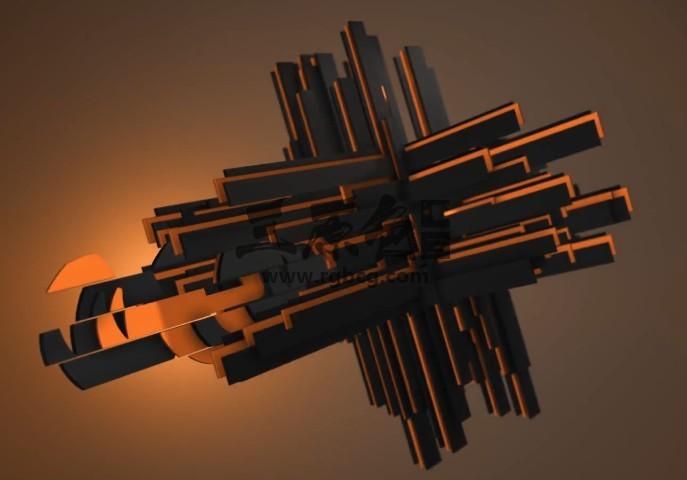 AE模板-三维元素LOGO标志动画片头 Plus Element 3D Logo Opener Ae 模板-第1张