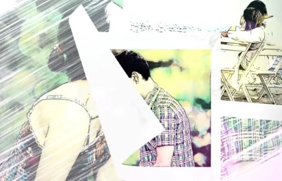 AE模板-浪漫手绘水彩画相册幻灯片展示 Romantic Story