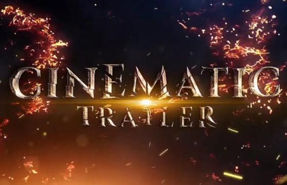 AE模板-破碎的文字电影预告片 Shatter Cinematic Trailer