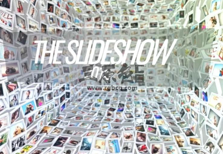 AE模板 创意图片墙LOGO标志动画片头 VideoHive Slideshow Ae 模板-第1张