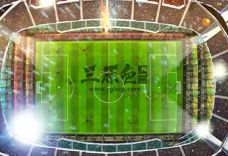 AE模板-创意足球LOGO标志开场片头 Soccer Logo Opener Ae 模板-第1张