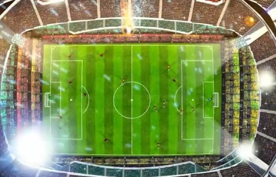 AE模板-创意足球LOGO标志开场片头 Soccer Logo Opener