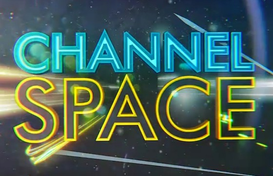 AE模板 太空文字标题描边动画表演 Space Show Logo Title