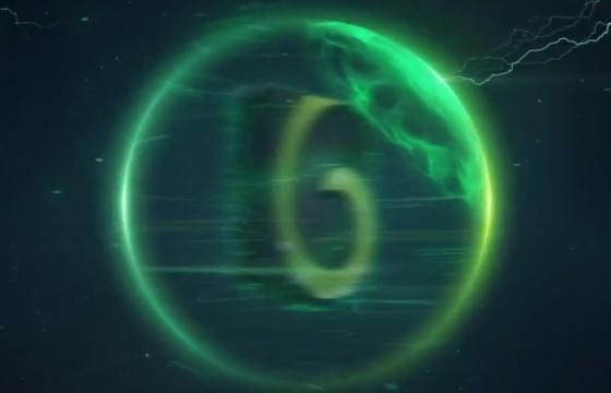 AE模板 太空能量球风暴logo标志 Space Storm Logo
