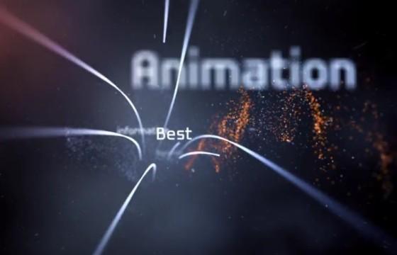 AE模板-高科技线条关键字缠绕LOGO动画 Twine Hi-Tech Logo Reveal