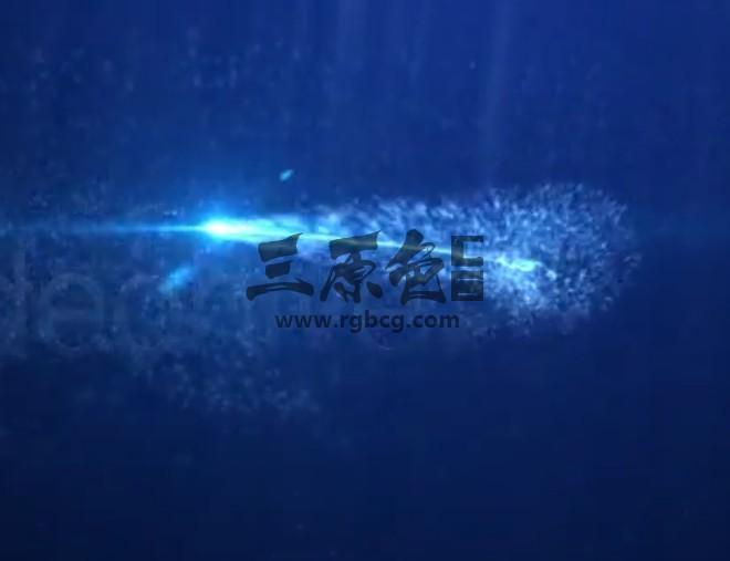 AE模板 - 水下LOGO标志片头展示 Underwater Logo v2 Ae 模板-第1张
