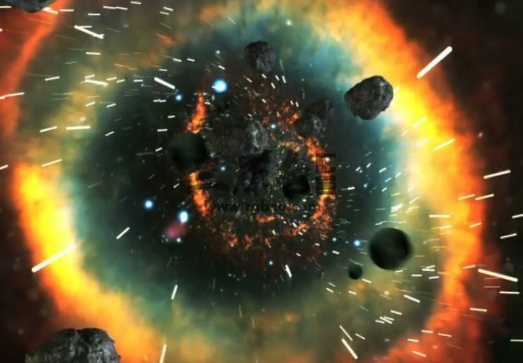 AE模板:宇宙俯冲LOGO文字展示动画 VideoHive Universal Ae 模板-第1张