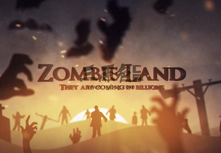 Pr模板-Mogrt基本图形模板 恐怖僵尸之地片头 Zombie Land Pr 模板-第1张