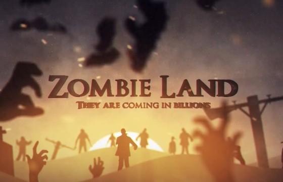 Pr模板-Mogrt基本图形模板 恐怖僵尸之地片头 Zombie Land
