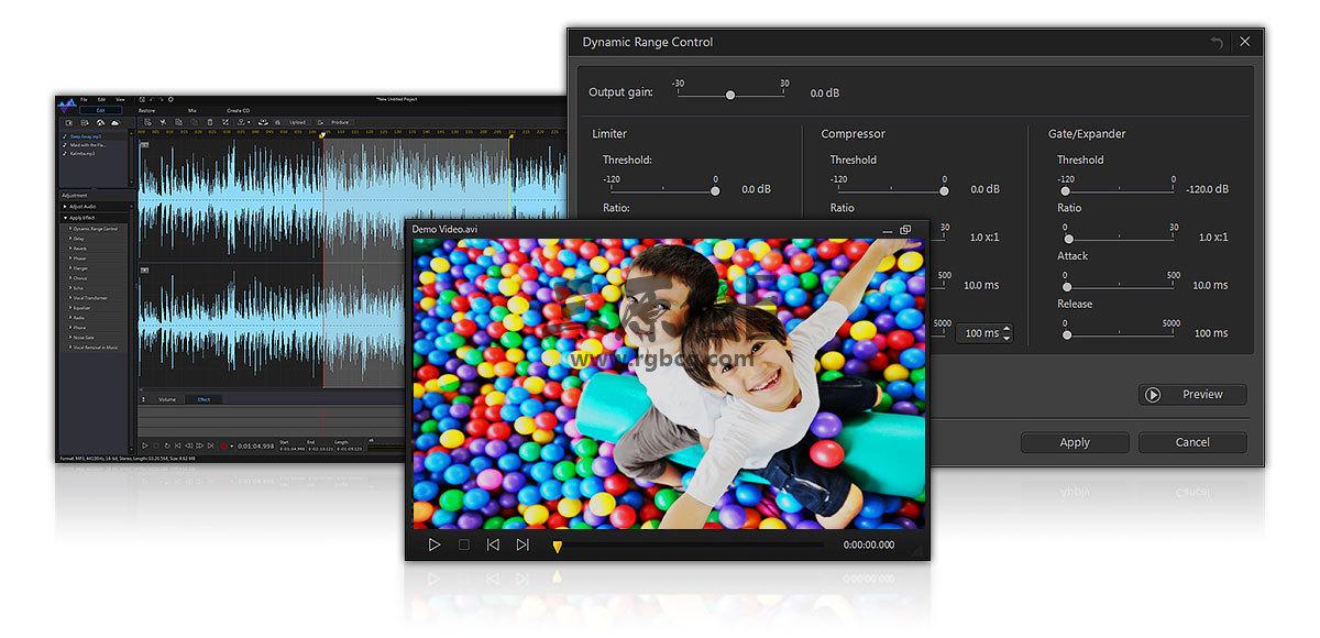 音频剪辑处理软件 CyberLink AudioDirector Ultra v9.0 中文版 影视后期-第3张