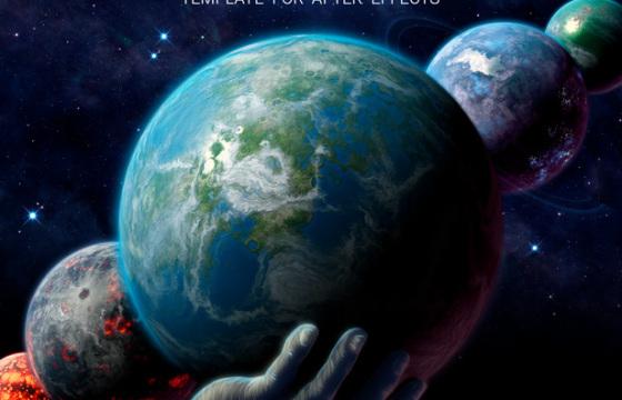 AE模板-宇宙外太空行星运动制造 VideoHive Planet Maker