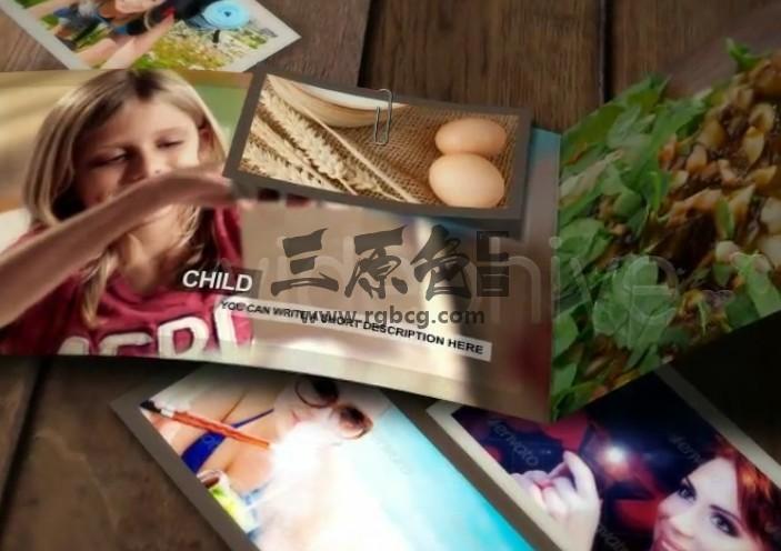 AE模板 动态折叠宣传页动画展示 VideoHive Brochure Ae 模板-第1张