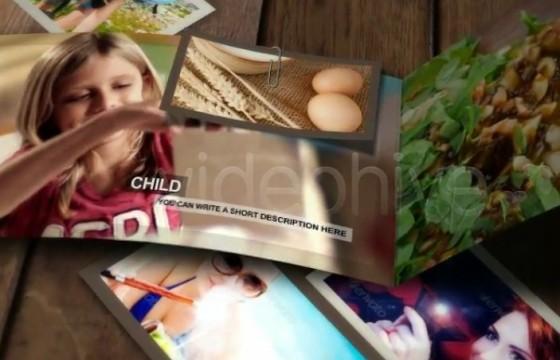 AE模板 动态折叠宣传页动画展示 VideoHive Brochure