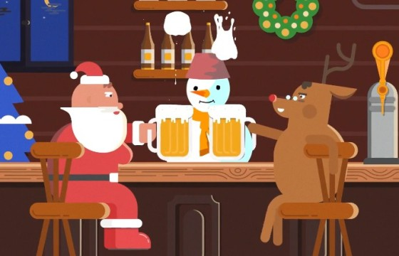 AE模板 MG卡通圣诞节动画元素 Cartoon Christmas Elements