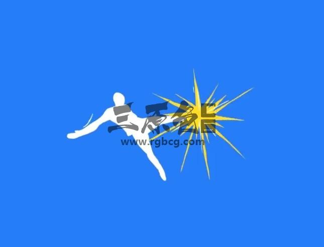 AE模板 卡通图形足球LOGO标志动画 Cartoon Soccer logo Ae 模板-第1张