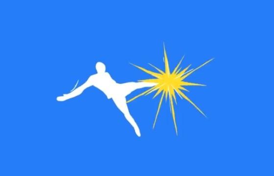AE模板 卡通图形足球LOGO标志动画 Cartoon Soccer logo