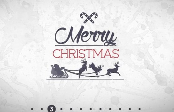 Pr模板-Mogrt基本图形模板 圣诞节文字标题 Christmas Title Pack