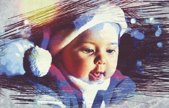 AE模板 创意冬季照片相册模板幻灯片 Christmas Winter Logo