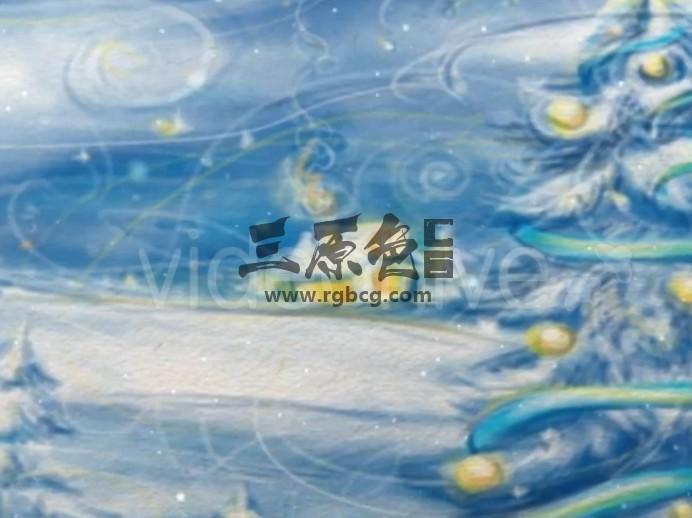 AE模板 圣诞节和新年视频贺卡 Christmas and New Year Video Card Ae 模板-第1张