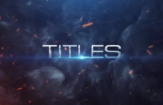 AE模板 – 电影预告片标题 Cinematic Trailer Titles