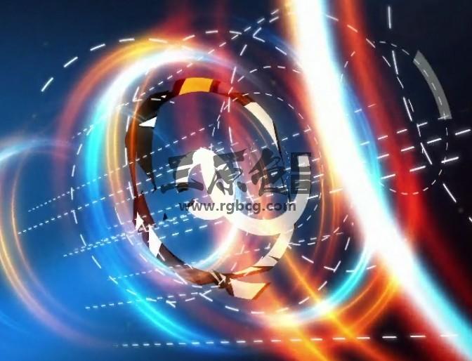AE模板 魔术光效弹性光圈LOGO片头 Circles Inertia Logo Revealer Ae 模板-第1张