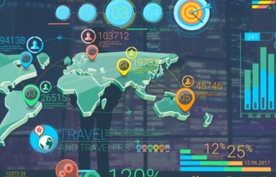 AE模板 公司数据信息三维图表动画元素 Corporate Infographic